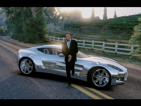 GTA V | JAMES BOND CARS COLLECTION IN GTA 5