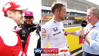 SUBSCRIBE ► http://bit.ly/SubscribeSkyF1 We look back at some of the funniest bloopers and strangest moments from our F1 coverage since we first came on air in 2012, from Sebastian Vettel calling out Lewis Hamilton for not slowing down for animals, to Jenson Button's nipple tweaks!  Add the Sky Sports F1 TV channel to your Sky package by clicking here ► http://bit.ly/WatchSkyF1  MORE FROM SKY SPORTS F1: ►FACEBOOK: http://www.facebook.com/SkySportsF1 ►INSTAGRAM: http://www.instagram.com/SkySportsF1 ►TWITTER: https://www.twitter.com/SkySportsF1  MORE FROM SKY SPORTS ON YOUTUBE: ►SKY SPORTS FOOTBALL: http://bit.ly/SSFootballSub ►SKY SPORTS BOXING: http://bit.ly/SSBoxingSub ►SOCCER AM: http://bit.ly/SoccerAMSub