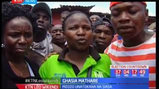 Ghasia Mathare baada ya mahakama kuharamisha ushindi ya mgombea mmoja
