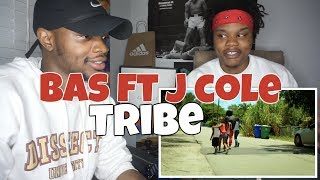 Bas   Tribe With J.Cole   REACTION