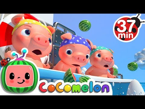 Three Little Pigs 2 (The Big Ship Sails on the Alley Alley Oh) | +More... - ABCkidTV