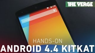 Android 4.4 KitKat hands-on thumbnail