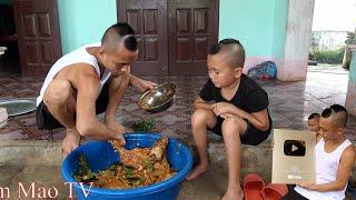 Nhím Nướng Siêu Cay - Lần Đầu Được Nhận Nút Vàng Tam Mao TV