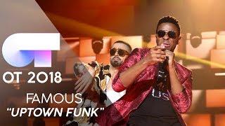 """UPTOWN FUNK"" - FAMOUS   GALA 10   OT 2018"