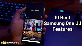 10 Best Samsung One U.I Features!