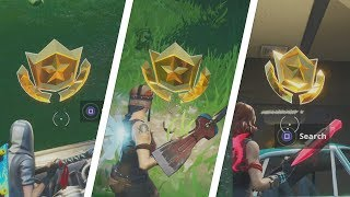All Season 9 Secret Battle Stars Locations Guide (Utopia Challenges)   Fortnite Battle Royale