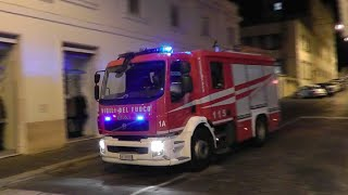 preview picture of video 'Fire Department of Rome / Vigili del Fuoco responding'
