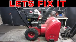 Lets Fix a $40 snowblower From a Garage Sale.