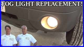 Fog Light Bulb Replace Ford Escape 2001-2007