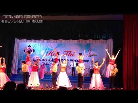 Tiết mục tốp ca - Tham gia Hội thi tiếng hát giáo viên tỉnh Kiên Giang năm 2015