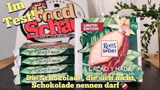 Ritter Sport: Cacao Y Nada (Die Schokolade, die sich nicht Schokolade nennen darf)