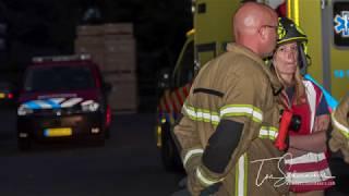 Oefening Brandweer Heinenoord 25-05-2018 VIDEO