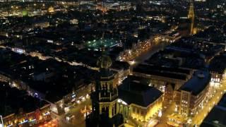 Dronefilm Wielewaalflat Groningen gemaakt door Vincent Lublink