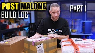 Post Malone Build Log Part 1 - This is the craziest build I