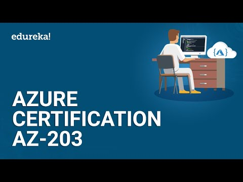 Azure Certification AZ-203 | Microsoft Azure Certification | Azure ...