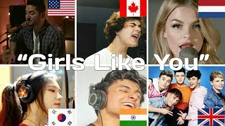 Who Sang it Better | 'Girls Like You' (India, USA, Canada, UK, Netherlands, South Korea)
