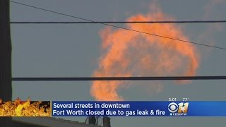 Several Streets Closed After Fort Worth Fire