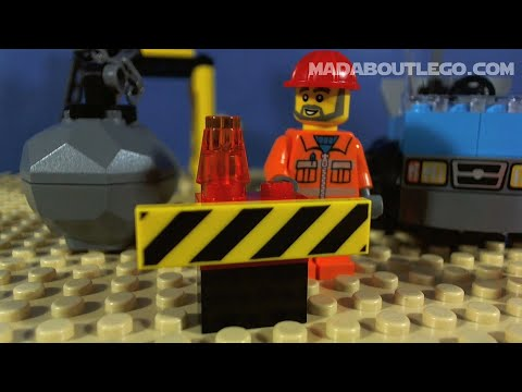 Vidéo LEGO Juniors 10667 : Boîte de construction du chantier