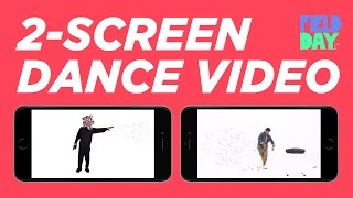 Dual Dance Music Video: LEFT Screen | Keone and Mari Have A Field Day