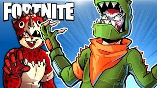 FORTNITE BR - DINOSAURS ARE AWESOME!!! (Full Duo Match)