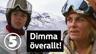 Wahlgrens värld   Skidorten framkallar ångest hos Pernilla men Theo är peppad   Torsdagar 21.00