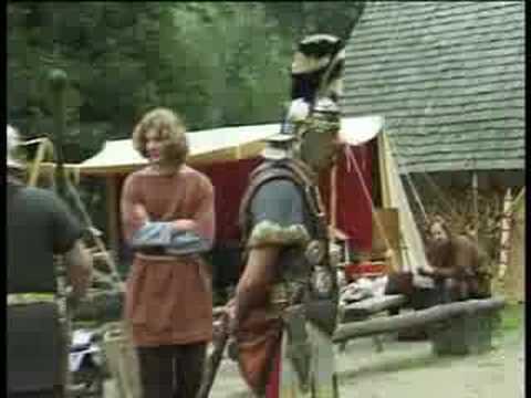 Wordt een Romeinse soldaat