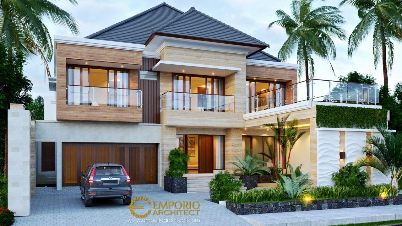 Video 3D Desain Rumah Modern 2 Lantai Bapak Suhardjanto di Jawa Tengah