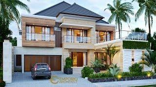 Video Desain Rumah Modern 2 Lantai Bapak Suhardjanto di  Jawa Tengah
