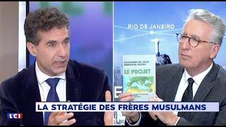 Del Valle dans Tout un Monde sur #LCI face à Vincent Hervouët, présentation du livre LE PROJET