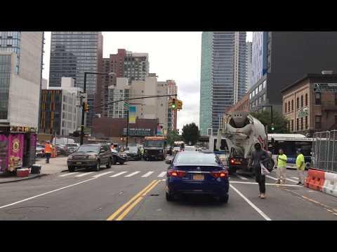 New York City Drive 4K - Long Island City - USA