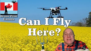Can I Fly Here? Guidelines for where you can fly your drone safely and legally in Canada