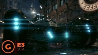 Batman: Arkham Knight - E3 2014 Gameplay Trailer at Sony Press Conference