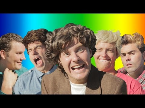 One Direction - Live While We're Young parodie