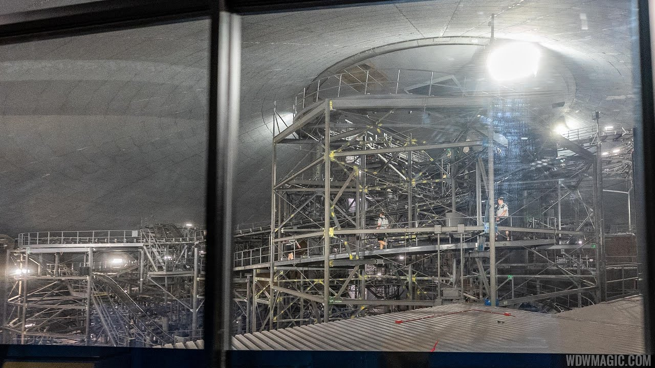 Turning out the lights at Space Mountain