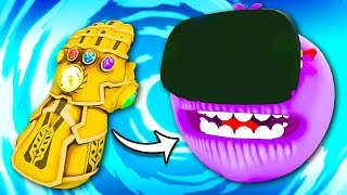 Giving THANOS Meeseeks the INFINITY GAUNTLET - Rick and Morty VR
