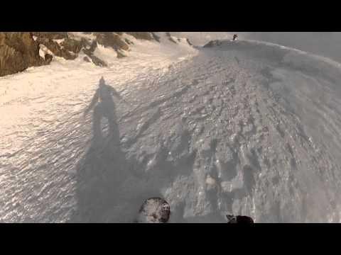 Befahrung Hochfeiler Nordwand