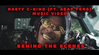 Nasty C   King (Ft. A$AP Ferg) Music Video  [Behind The Scenes]