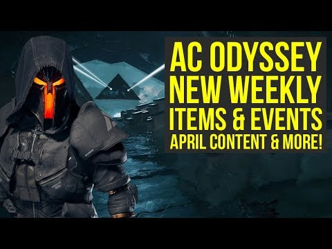 Assassin's Creed Odyssey DLC - April Content WHAT WE KNOW SO FAR & Weekly Reset (AC Odyssey DLC)