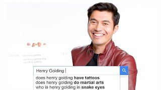 Henry Golding Answers the Web's Most Searched Questions | WIRED