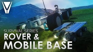 Mobile Base And Survival Rover [Space Engineers]