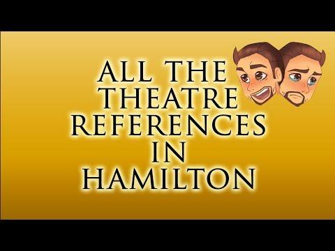 All the Theatre References in Hamilton