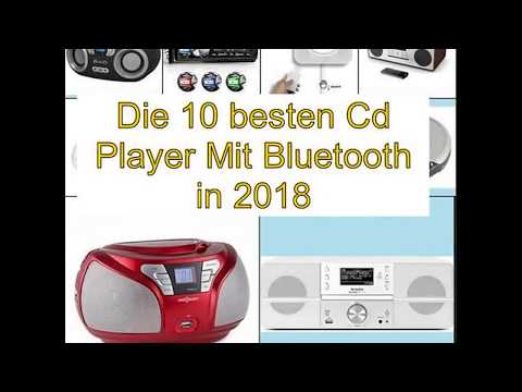 Die 10 besten Cd Player Mit Bluetooth in 2018