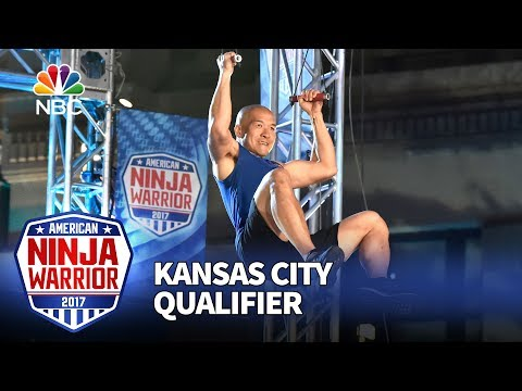 Jimmy Choi at the Kansas City Qualifiers - American Ninja Warrior 2017