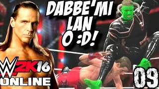 WWE 2K16 Online Türkçe | Dabbe mi Lan O :D SHAWN MICHAELS | Ümidi vs World | 9.Bölüm | Ps 4