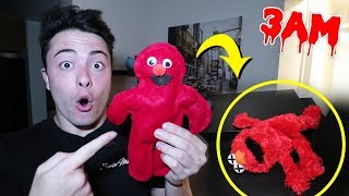 DO NOT MAKE A ELMO VOODOO DOLL AT 3AM!! (I DID THIS TO IT)