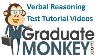 Verbal Reasoning Test Tutorial 1 - SAMPLE ONLY
