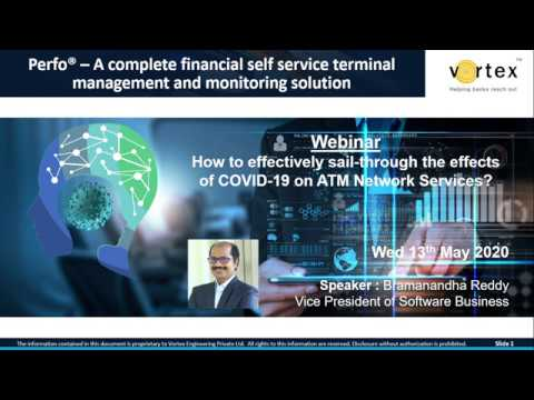 How to effectively sail-through the effects of COVID-19 on ATM Network Services?