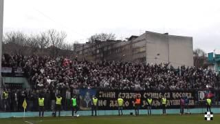 Zabranjeni na Vračaru  | Rad -Partizan 16.03.2014