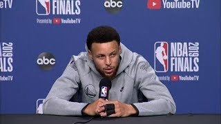 Stephen Curry Full Interview - Game 2 Preview | 2019 NBA Finals Media Availability