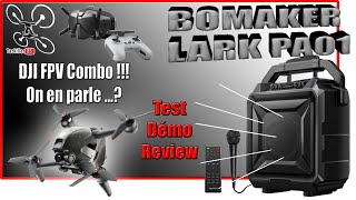 Bomaker PA01 Enceinte Bluetooth Karaoke Nomade - Review Test Démo - DJI FPV, on en parle ?